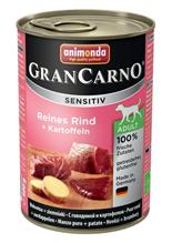 Animonda GranCarno Sensitiv / Консервы Анимонда для Чувствительных собак c Говядиной и Картофелем (цена за упаковку)
