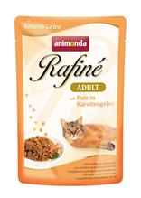 Заказать Animonda Rafin / е Soupе Adult паучи для кошек с Индейкой в Морковном желе Цена за упаковку по цене 1030 руб
