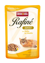 Заказать Animonda Rafin / е Soupе Adult паучи для кошек с Курицей в Яичном пудинге Цена за упаковку по цене 1030 руб