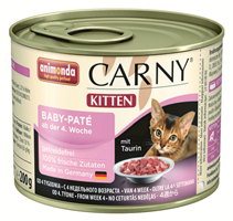 Animonda Carny Kitten Baby-Pate / Паштет Анимонда для Котят (цена за упаковку)