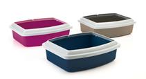Savic Oval Trays / Туалет Савик для кошек со съемным Бортом Пластиковый