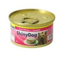 Заказать Gimborn Shiny Dog / Консервы для собак Тунец Цыплёнок Цена за упаковку по цене 4280 руб