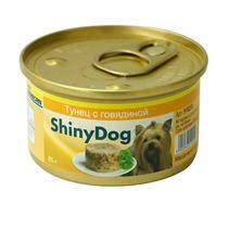 Заказать Gimborn Shiny Dog / Консервы для собак Тунец Говядина Цена за упаковку по цене 4280 руб