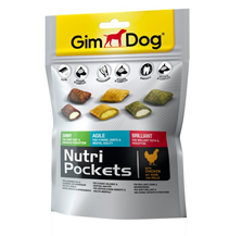 Заказать Gimdog Nutri Pockets Shiny Agile Brilliant / Подушечки для собак Микс по цене 230 руб