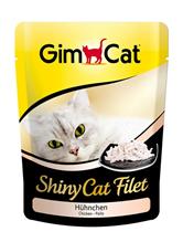 Заказать Gimcat Shiny Cat Filet / Паучи для кошек Цыпленок Цена за упаковку по цене 4490 руб