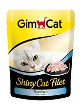 Заказать Gimcat Shiny Cat Filet / Паучи для кошек Тунец Цена за упаковку по цене 4490 руб
