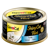 GimCat ShinyCat Filet / Консервы Джимкэт для кошек Тунец (цена за упаковку)