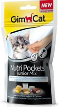 Заказать Gimcat Nutri Pockets Junior Mix / Подушечки для Котят Микс по цене 130 руб