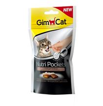 Заказать Gimcat Nutri Pockets Gefluegel & Biotin / Подушечки для кошек с Птицей и биотином по цене 130 руб