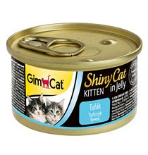 GimCat ShinyCat Kitten / Консервы Джимкэт для Котят Тунец (цена за упаковку)