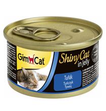 GimCat ShinyCat / Консервы Джимкэт для кошек Тунец (цена за упаковку)