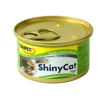 Заказать Gimpet Shiny Cat / Консервы для кошек Тунец с травкой Цена за упаковку по цене 2140 руб