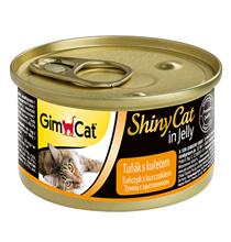 GimCat ShinyCat / Консервы Джимкэт для кошек Тунец с цыпленком (цена за упаковку)