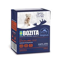 Bozita Naturals Junior Tender Chicken / Консервы Бозита Натуралс для Щенков кусочки в желе Курица (цена за упаковку)
