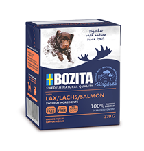 Bozita Naturals Salmon / Консервы Бозита Натуралс для собак кусочки в желе Лосось (цена за упаковку)