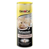 Заказать Gimpet Katzentabs Mascarpone / Витаминизированное лакомство для кошек с Маскарпоне по цене 910 руб