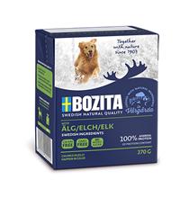 Bozita Naturals Elk / Консервы Бозита Натуралс для собак кусочки в желе мясо Лося (цена за упаковку)