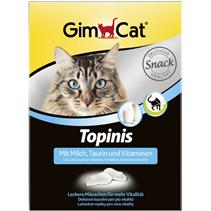 """Заказать Gimpet Topinis mit Milch / Витаминизированное лакомство для кошек """"Мышки"""" с Молоком по цене 560 руб"""