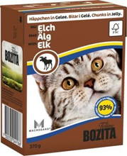Bozita Feline / Консервы Бозита для кошек кусочки в желе Лось (цена за упаковку)