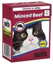Bozita Feline / Консервы Бозита для кошек кусочки в желе Рубленая Говядина (цена за упаковку)