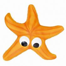 """Trixie / Игрушка Трикси для собак """"Морская звезда"""" с пищалкой латекс"""