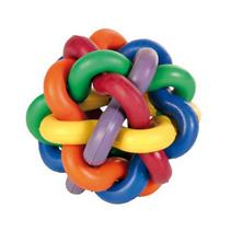 """Trixie / Игрушка Трикси для собак """"Мяч плетеный"""" натуральный каучук"""