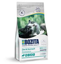 Bozita Sensitive Diet & Stomach Grain free / Сухой Беззерновой корм Бозита для кошек с Чувствительным пищеварением и Пожилых кошек с избыточным весом с мясом Лося