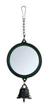 "Trixie / Игрушка Трикси для птиц ""Зеркало с колокольчиком"" пластик"