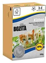 Bozita Feline Funktion Kitten / Влажный корм Бозита кусочки Курицы в желе для Котят и беременных кошек (цена за упаковку)