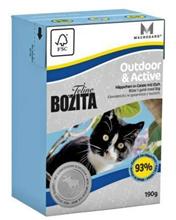Заказать Bozita Feline Funktion Outdoor & Active / Влажный корм для Активных кошек кусочки в желе Лось Цена за упаковку по цене 2040 руб