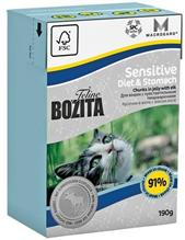 Bozita Feline Funktion Sensitive Diet & Stomah / Влажный корм Бозита для кошек с Чувствительным пищеварением кусочки в желе Лось (цена за упаковку)
