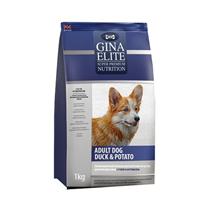 Заказать Gina Dog Elite Adult Duck & Potato / Сухой Беззерновой корм для взрослых собак Утка с картофелем по цене 1730 руб