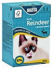 Заказать Bozita Feline Mini / Консервы Мини для кошек кусочки в желе с мясом Оленя Цена за упаковку по цене 2032 руб