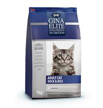 Gina Elite Adult Cat Duck & Rice / Сухой Полнорационный корм Джина для взрослых кошек Утка с рисом