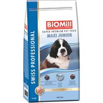 Заказать BioMill Swiss Professional Maxi Junior / Сухой корм для Щенков Крупных пород Лосось по цене 6540 руб