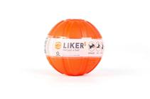 Liker 5 / Мячик Лайкер для Щенков и собак Мелких пород Оранжевый