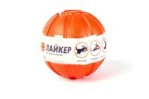 Liker 7 / Мячик Лайкер для собак Мелких и Средних пород Оранжевый