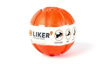 Liker 9 / Мячик Лайкер для собак Крупных пород Оранжевый