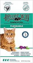 Заказать Better Way Flushable / Комкующийся наполнитель для кошачьего туалета Цеолит Свежесть по цене 1590 руб