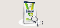 Happy Dog Hypersensitivity / Ветеринарный сухой корм Хэппи Дог для собак Пищевая аллергия