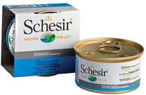 Schesir / Консервы для Кошек Тунец в собственном соку (цена за упаковку)
