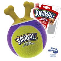 Заказать GiGwi Dog Jumball / Игрушка для собак Мяч с захватом Теннисный материал Желто-фиолетовый по цене 970 руб