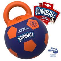 Заказать GiGwi Dog Jumball / Игрушка для собак Мяч с захватом Резиновый Оранжево-синий по цене 1020 руб