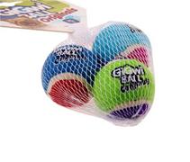 GiGwi Dog Ball Originals / Игрушка Гигви для собак Набор 3 мяча с пищалкой