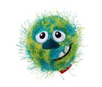 GiGwi Dog Crazy Ball / Игрушка Гигви для собак Мяч теннисный с пищалкой Зеленый