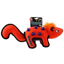 GiGwi Dog Duraspikes / Игрушка Гигви для собак Скунс с резиновыми вставками