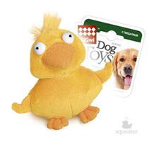 GiGwi Dog Toys / Игрушка Гигви для собак Утка с пищалкой с теннисным мячом