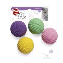 GiGwi Cat Toys / Игрушка Гигви для кошек 4 мячика в упаковке
