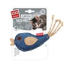 Заказать GiGwi Cat Catch & Scratch / Игрушка для кошек Птичка с кошачьей мятой по цене 180 руб