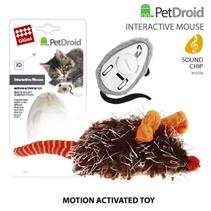 GiGwi Cat PetDroid / Интерактивная игрушка Гигви для кошек Мышка со звуковым чипом